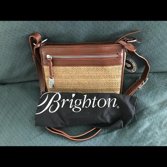 Brighton Handbags - Brighton Boyd City Handbag Organizer Brandy Straw